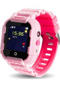 Smartwatch CALMEAN Sport Różowy. Rodzaj zegarka: smartwatch. Kolor: różowy. Styl: sportowy