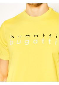 Bugatti T-Shirt 8350 55062 Żółty Regular Fit. Kolor: żółty #4