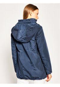 Geox Kurtka przejściowa W Nayomi Long W0220R T2608 F4491 Granatowy Regular Fit. Kolor: niebieski