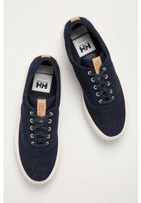 Helly Hansen - Tenisówki. Nosek buta: okrągły. Zapięcie: sznurówki. Kolor: niebieski. Materiał: guma