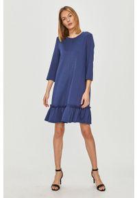 Niebieska sukienka Vila na co dzień, casualowa