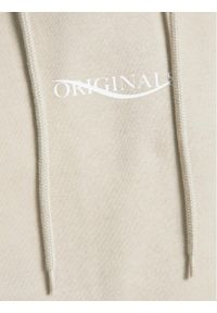 Jack & Jones - Jack&Jones Bluza Elias 12195574 Beżowy Oversize. Kolor: beżowy