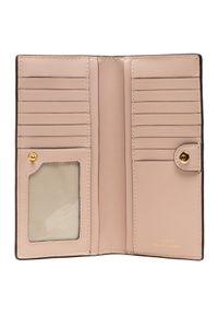 Lauren Ralph Lauren Duży Portfel Damski Slim Wallet Wlt Med 432802917011 Różowy. Kolor: różowy
