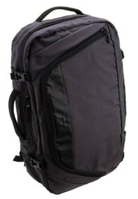 DAVID JONES - Plecak z miejscem na laptopa c. szary David Jones PC-029 D.GREY. Kolor: szary. Materiał: materiał