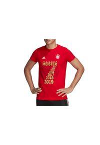Czerwona koszulka sportowa Adidas