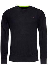 Czarny sweter klasyczny Diesel