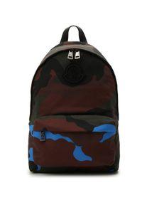 MONCLER - Plecak Pierrick. Kolor: brązowy. Materiał: nylon