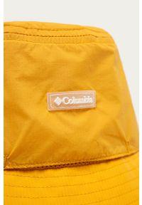 columbia - Columbia - Kapelusz. Kolor: żółty. Materiał: tkanina, materiał