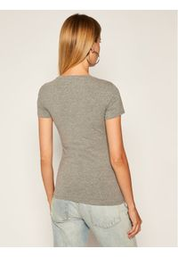 Guess T-Shirt Britney Tee W0YI85 J1300 Szary Slim Fit. Kolor: szary