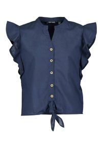 Niebieska bluzka Blue Seven krótka
