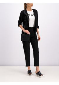 Czarna kurtka przejściowa DKNY