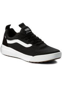 Czarne buty sportowe Vans na co dzień, z cholewką