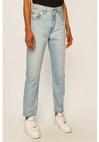 Levi's® - Levi's - Jeansy 501 Crop. Okazja: na spotkanie biznesowe. Kolor: niebieski. Styl: biznesowy