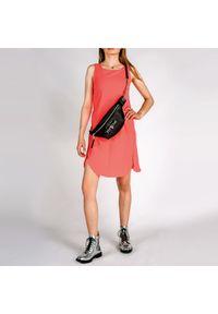 Armani Exchange Sukienka. Okazja: na co dzień. Materiał: tkanina. Długość rękawa: na ramiączkach. Typ sukienki: proste. Styl: casual. Długość: mini