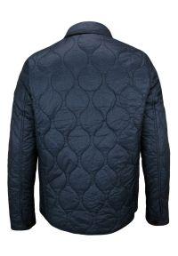 Niebieska kurtka Gustaff klasyczna, na jesień