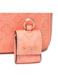 Guess - Torebka GUESS - Bea (VS) HWVS81 32140 COR. Kolor: pomarańczowy. Materiał: skórzane