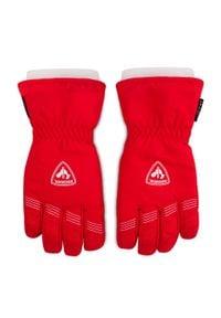 Rossignol - Rękawice narciarskie ROSSIGNOL - RLJYG02 Sports Red 301. Kolor: czerwony. Materiał: poliester, materiał