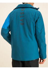 Niebieska kurtka sportowa Quiksilver narciarska