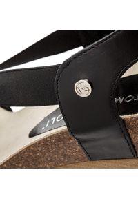 Czarne sandały Nik na co dzień #7