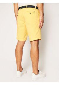Żółte szorty TOMMY HILFIGER