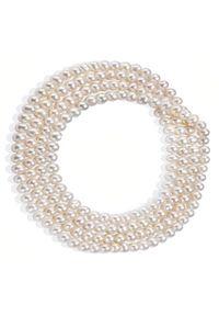 Braccatta - MIYOKO, naszyjnik z pereł, długi, na plecy 2 m. Materiał: srebrne. Wzór: aplikacja. Kamień szlachetny: perła