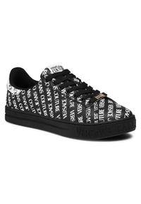 Versace Jeans Couture Sneakersy E0YWASK5 Czarny. Kolor: czarny