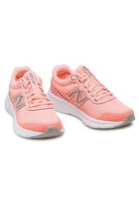 Pomarańczowe buty do fitnessu New Balance z cholewką, na co dzień