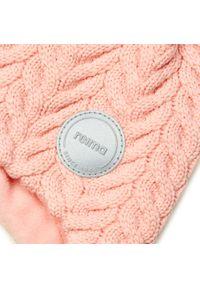 Reima - Czapka REIMA - Murmeli 518564 Powder Pink 3040. Kolor: różowy. Materiał: wełna, materiał