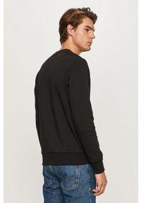 Czarna bluza nierozpinana Jack & Jones z nadrukiem, na co dzień