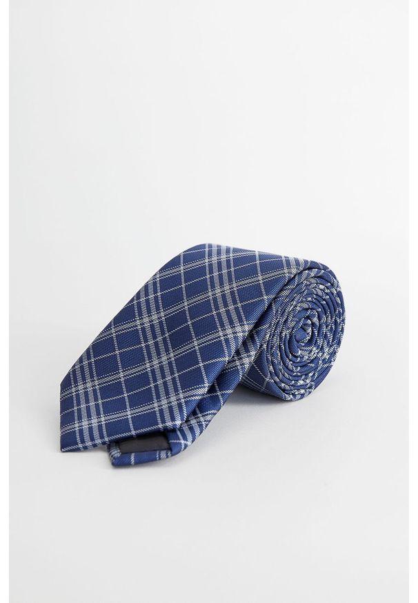 Niebieski krawat Mango Man