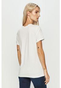 Biała bluzka only z nadrukiem, na co dzień #5