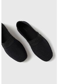 GANT - Gant - Espadryle Lular. Nosek buta: okrągły. Kolor: czarny. Materiał: guma