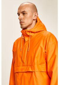 Pomarańczowa kurtka Helly Hansen z kapturem