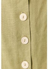 Zielona spódnica Glamorous casualowa, na co dzień
