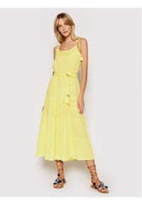 Żółta sukienka letnia Melissa Odabash