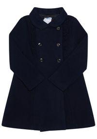 Niebieski płaszcz Mayoral