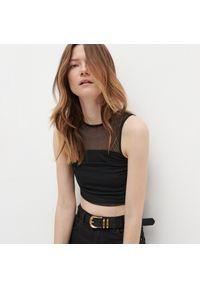 Czarna bluzka Reserved elegancka