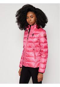 Różowa kurtka puchowa Blauer