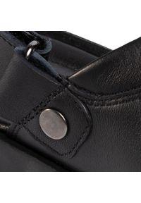 Czarne sandały Gino Rossi na lato, klasyczne