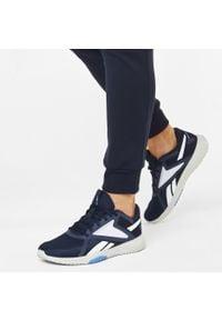 Niebieskie buty treningowe Reebok z cholewką