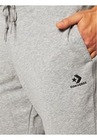 Converse Spodnie dresowe 10020369-A02 Szary Regular Fit. Kolor: szary. Materiał: dresówka