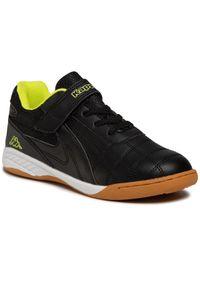 Kappa - Sneakersy KAPPA - Furbo K 260776K Black/Yellow 1140. Zapięcie: rzepy. Kolor: czarny. Materiał: skóra ekologiczna, materiał. Szerokość cholewki: normalna