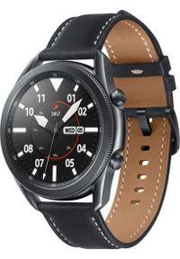 SAMSUNG - Smartwatch Samsung Galaxy Watch 3 Mystic Black 45mm Czarny (SM-R840NZKAEUE). Rodzaj zegarka: smartwatch. Kolor: czarny