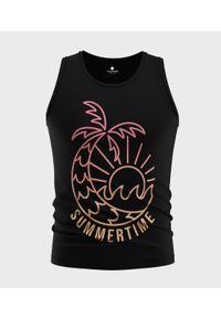 MegaKoszulki - Koszulka męska bez rękawów Summertime. Materiał: bawełna. Długość rękawa: bez rękawów