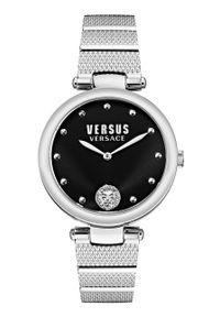 Versus Versace - Zegarek VSP1G0421. Kolor: srebrny. Materiał: materiał