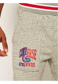 Szare spodnie dresowe Converse