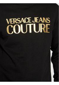 Versace Jeans Couture Bluza 71GAIT08 Czarny Regular Fit. Kolor: czarny
