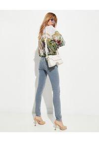 OFF-WHITE - Koszula w kwiaty z jedwabiu. Kolor: biały. Materiał: jedwab. Długość rękawa: długi rękaw. Długość: długie. Wzór: kwiaty. Sezon: wiosna