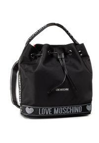Czarny plecak Love Moschino klasyczny