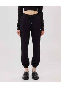 Mackage - MACKAGE - Czarne spodnie dresowe Presley. Kolor: czarny. Materiał: dresówka. Długość: długie
